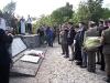 Składanie wieńców przy pomniku poległych żołnierzy 3 Dywizji Strzelców Karpackich (Monte Cassino, 11.05.2007 r.)
