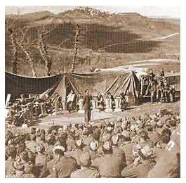 """Gwidon Borucki - pierwsze wykonanie """"Czerwonych maków na Monte Cassino"""""""